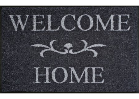 wash-and-dry Matte Welcome Home anthrazit 050x075 cm
