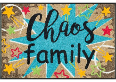 wash-and-dry Matte Chaos Family 050x075 cm