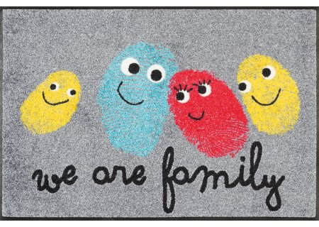wash-and-dry Matte Happy Family 050x075 cm
