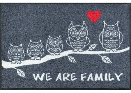 wash-and-dry Matte We Are Family 050x075 cm