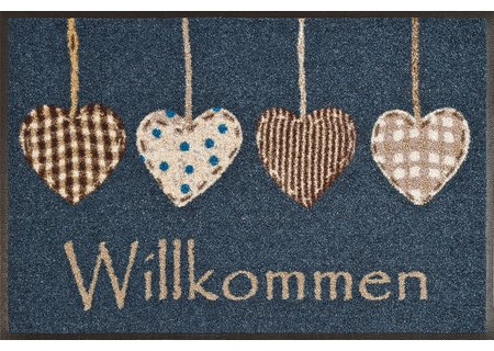 wash-and-dry Matte Cottage Hearts 050x075 cm