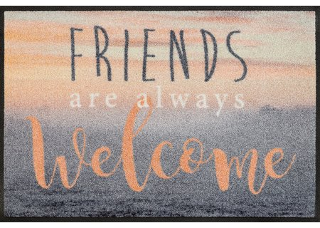 wash-and-dry Matte Welcome Friends 050x075 cm
