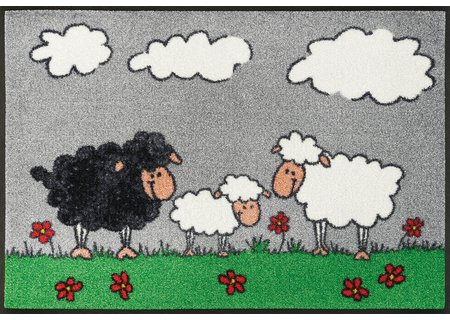 wash-and-dry Matte Sheep Family 050x075 cm