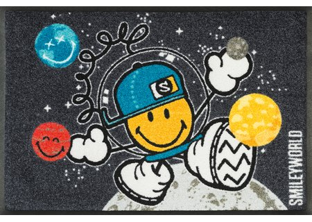 wash-and-dry Matte Smiley Space Explorer 050x075 cm