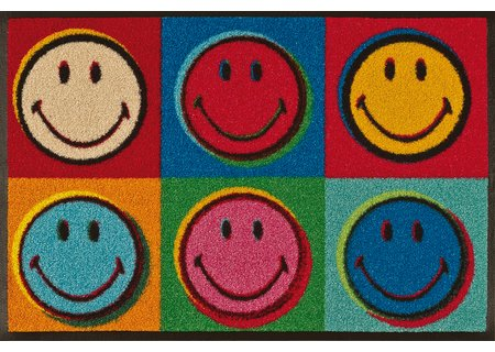 wash-and-dry Matte Smiley Warhol 050x075 cm