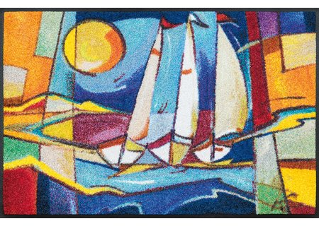 wash-and-dry Matte sailing home 050x075 cm