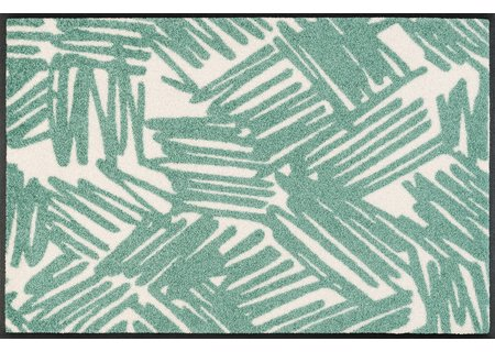 wash-and-dry Matte Urban Lines green 050x075 cm