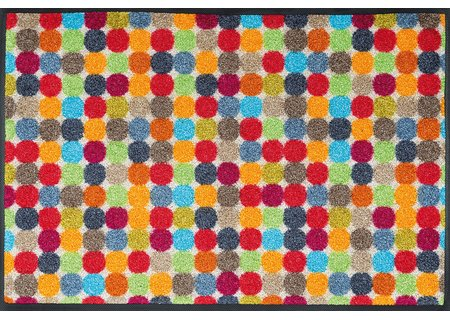 wash-and-dry Matte Mikado Dots 050x075 cm
