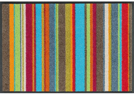 wash-and-dry Matte Stripes multi 040x060 cm