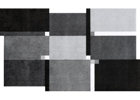 wash-and-dry Matte Living Squares black